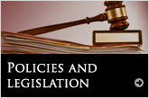Policies and legislation