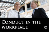 Conduct in the workplace